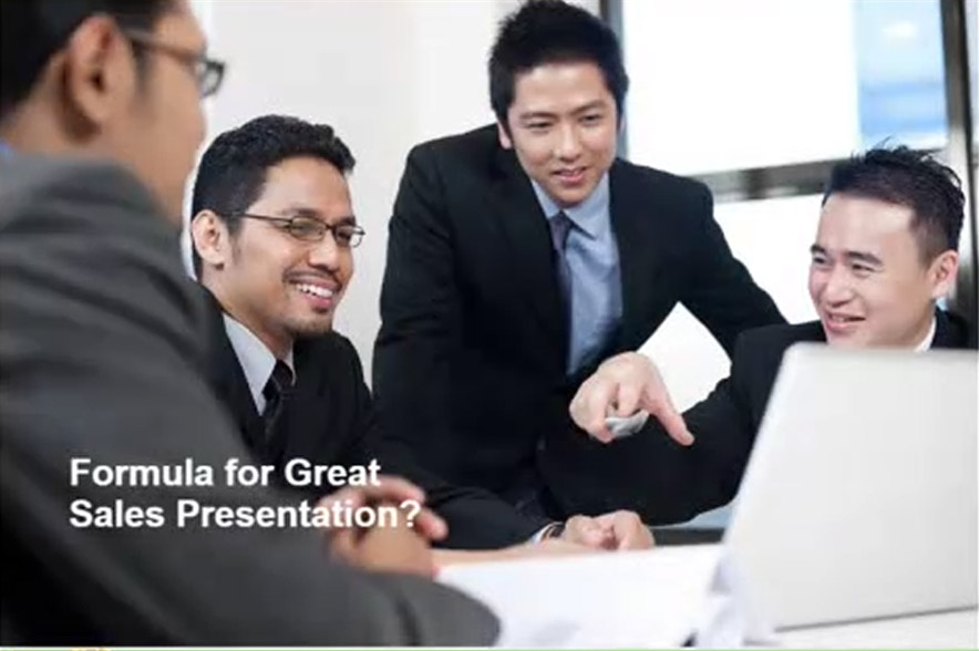 Course Image Dynamic Sales Presentations